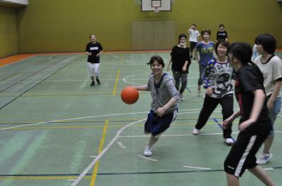 球技大会バスケ
