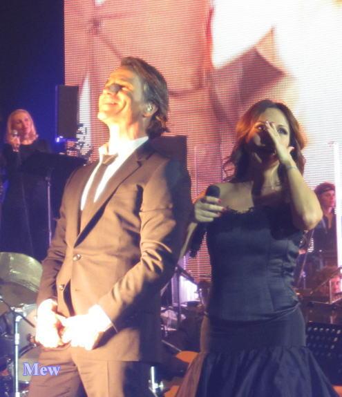 Bruno Pelletier et Hélène Ségara