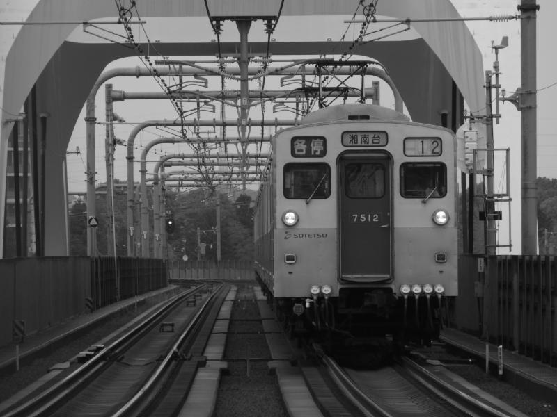 ニールセン・ローゼ橋と相鉄7000系