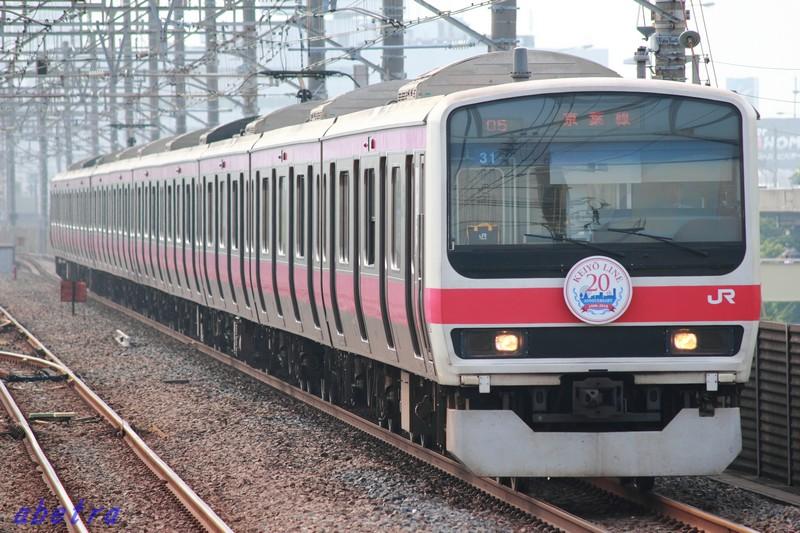 JR京葉線 209系500番台 31編成