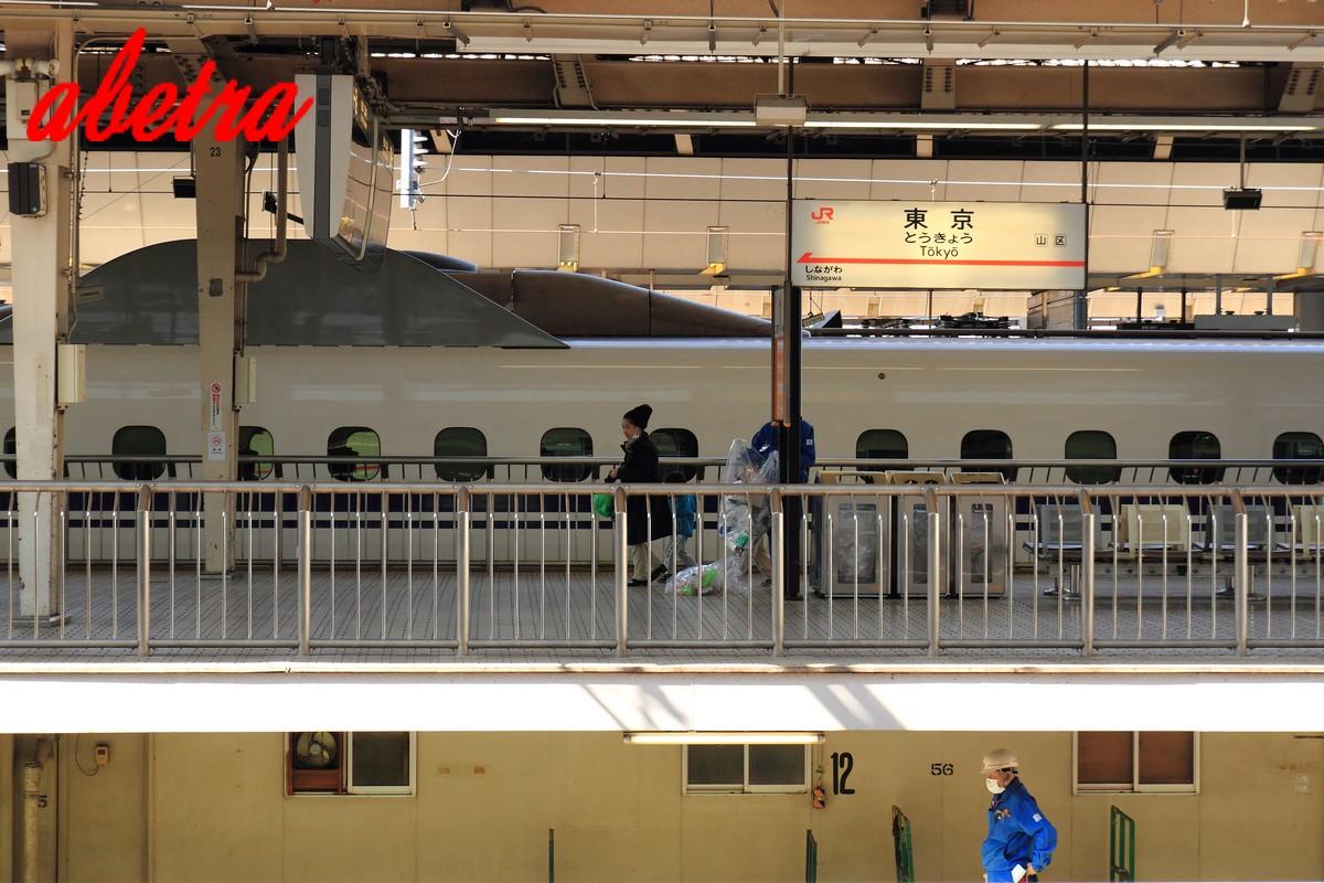 東京駅のホームの下には・・・