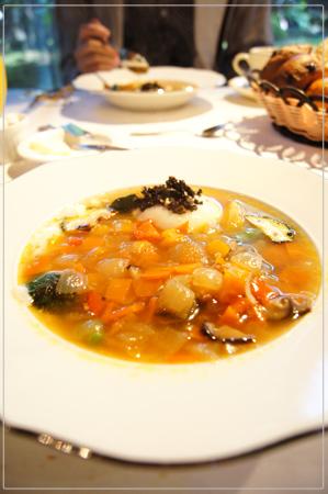 軽井沢プリマヴェーラ・朝食のスープ