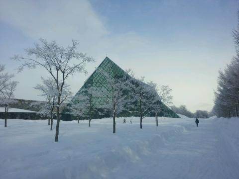 ピラミッドもキレイ
