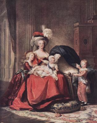 王妃と子供たち・・