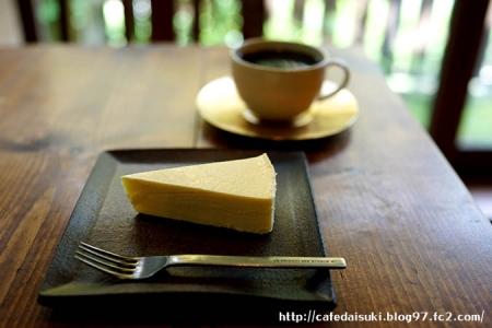 石かわ珈琲◇あじさいブレンド&チーズケーキ