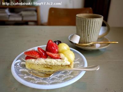 midorigaoka41◇フルーツタルト&丸山コーヒー