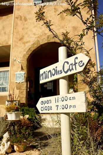 minoi ts Cafe◇エントランス