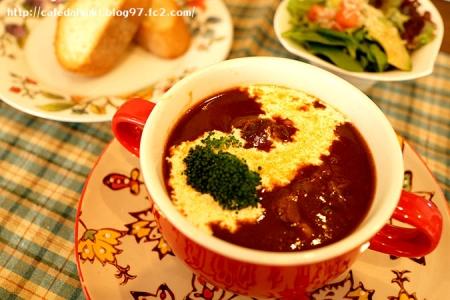 minoi ts Cafe◇黒毛和牛のビーフシチュー