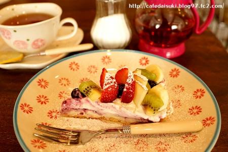 minoi ts Cafe◇フルーツタルト&紅茶