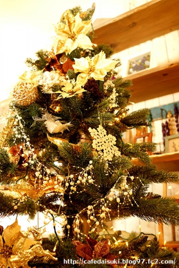 minoi ts Cafe◇クリスマスツリー