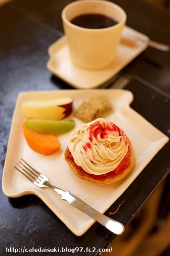 mirayne◇アップルパイ&穀物コーヒー