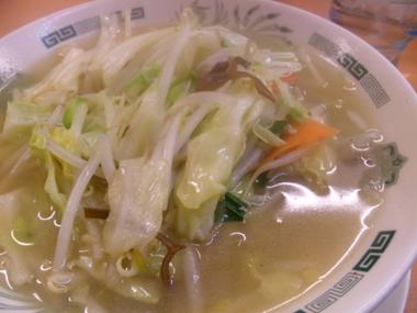 01野菜タンメン