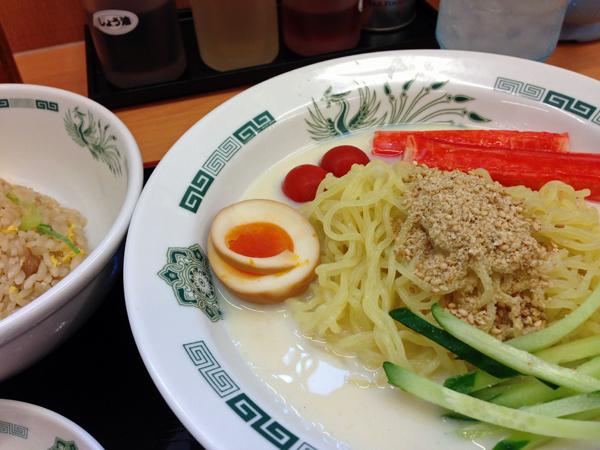 09豆乳麺