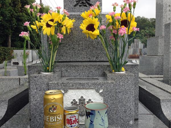 11墓参り