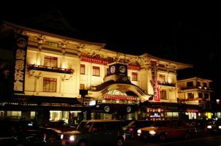 歌舞伎座(夜)