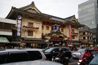 歌舞伎座(夕)