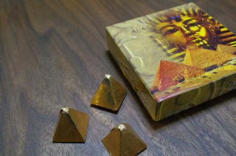 ピラミッドチョコ