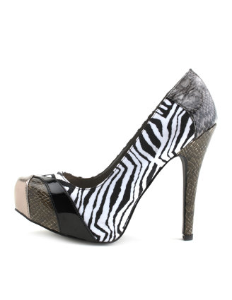 WILD THING MIXED PLATFORM HEEL 2