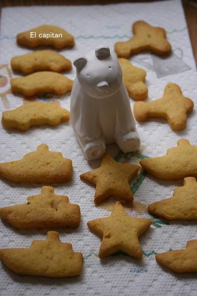 男の子のクッキー