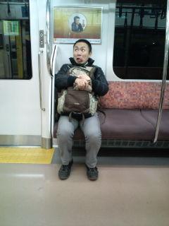 正太郎さん電車にて
