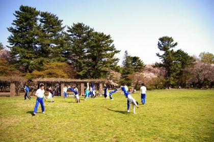可児さん撮影戸田公園カポエィラ