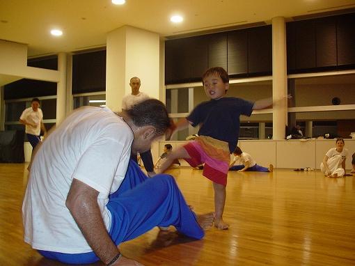 フラカォンと3歳児