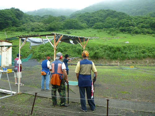 2011.07.05有害鳥獣捕獲射撃会3