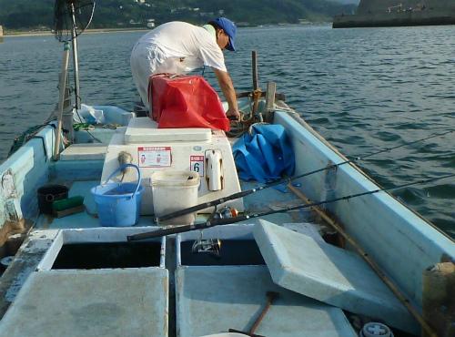 2011.08.28アジ釣り2