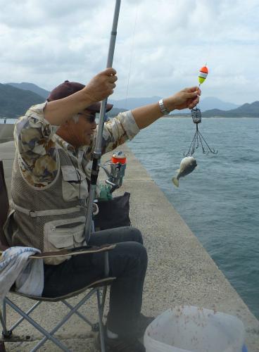 2011.10.01親子で釣り5