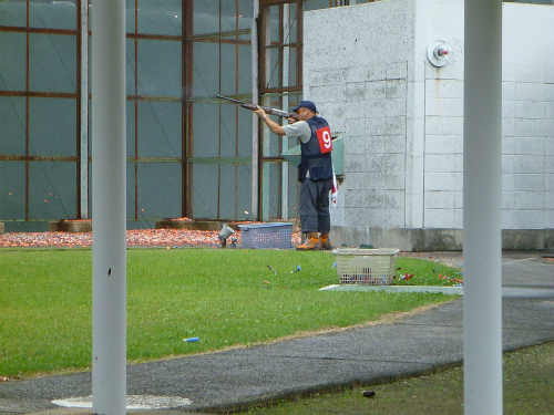 2011.10.05クレー射撃3