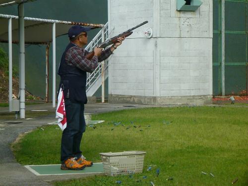 2011.10.05クレー射撃4