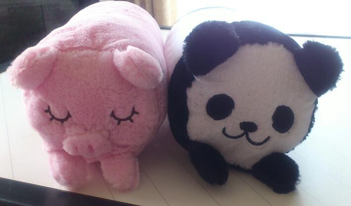 ブタさんとパンダさん20130504