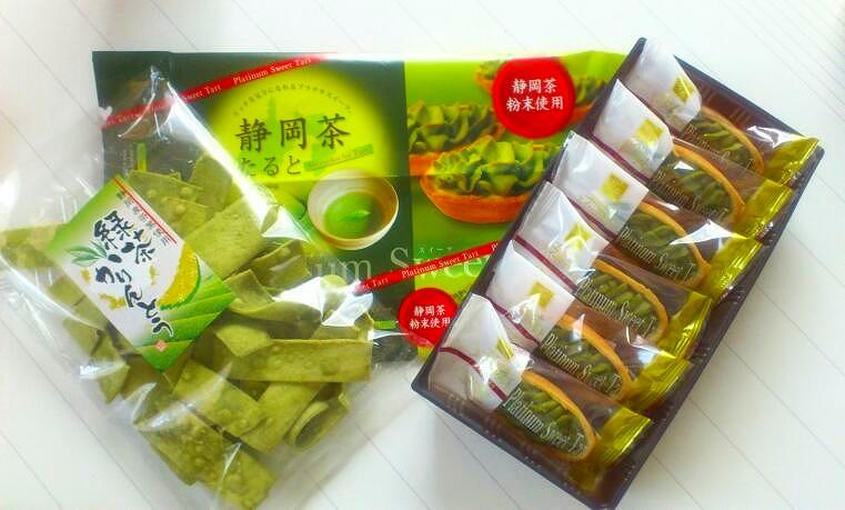 抹茶お菓子20130506