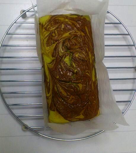 抹茶パウンドケーキ20130509