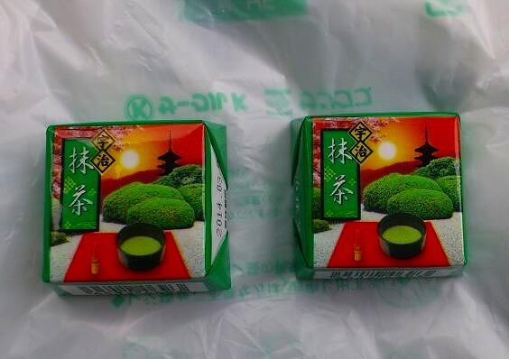 チロルチョコ抹茶20130529