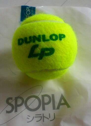 テニスボール20130529