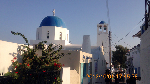 フィラの町教会
