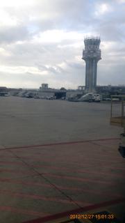 パレルモ空港着陸