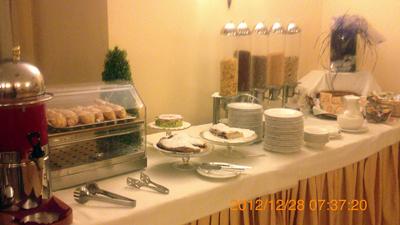 ホテルの朝食inパレルモ01