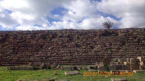 西神殿群城壁inセリヌンテ