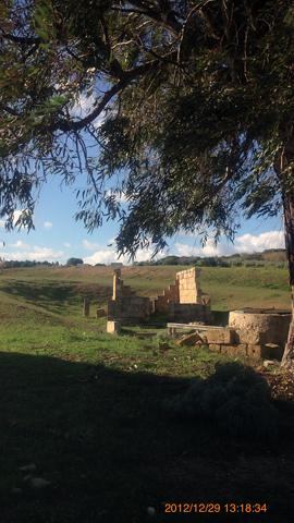 西神殿群更に西Malophorosの聖域inセリヌンテ