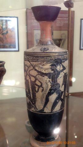 アグリジェント考古学博物館02ヘラクレスのヒュドラ退治