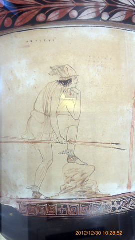 アグリジェント考古学博物館05黄昏ヘルメスたん
