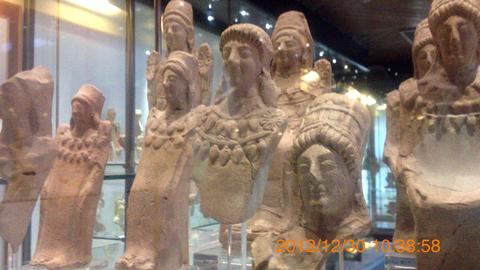 アグリジェント考古学博物館06デメテルテラコッタ群