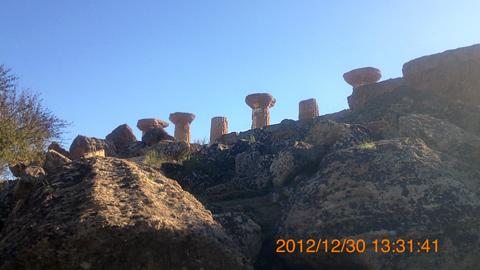 ヘラクレス神殿inアグリジェント