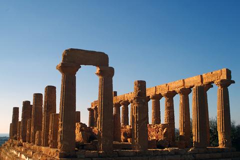 ヘラ神殿inアグリジェント