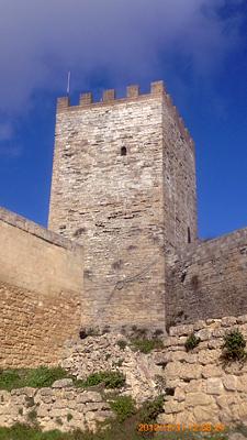 ロンバルディア城の塔inエンナ