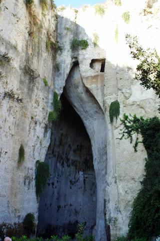 ネアポリ考古学公園ディオニュシオスの耳inシラクーサ