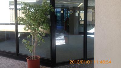 州立パオロ・オルシ考古学博物館入口inシラクーサ