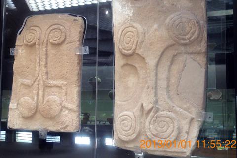 考古学博物館01渦巻板がマルタっぽいinシラクーサ